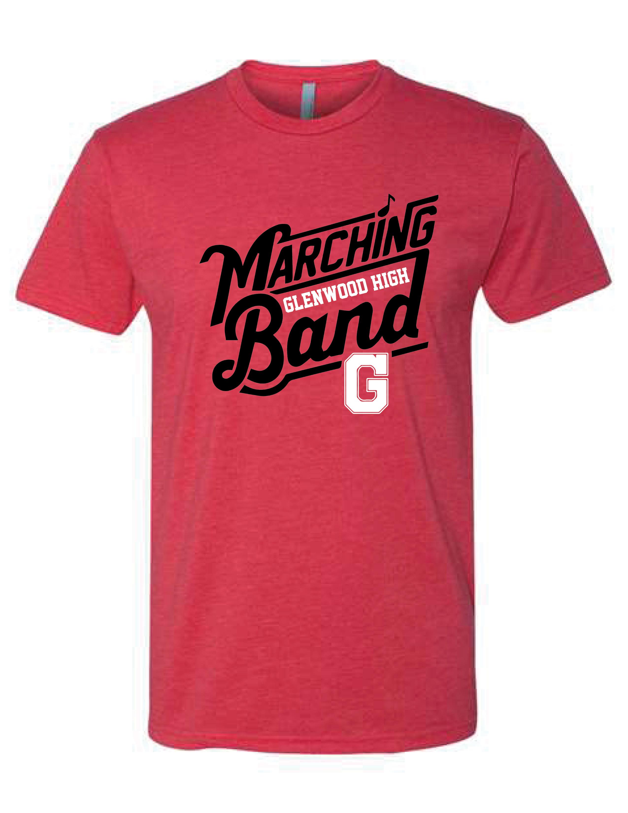 Glenwood Marching Band - LADIES Short Sleeve