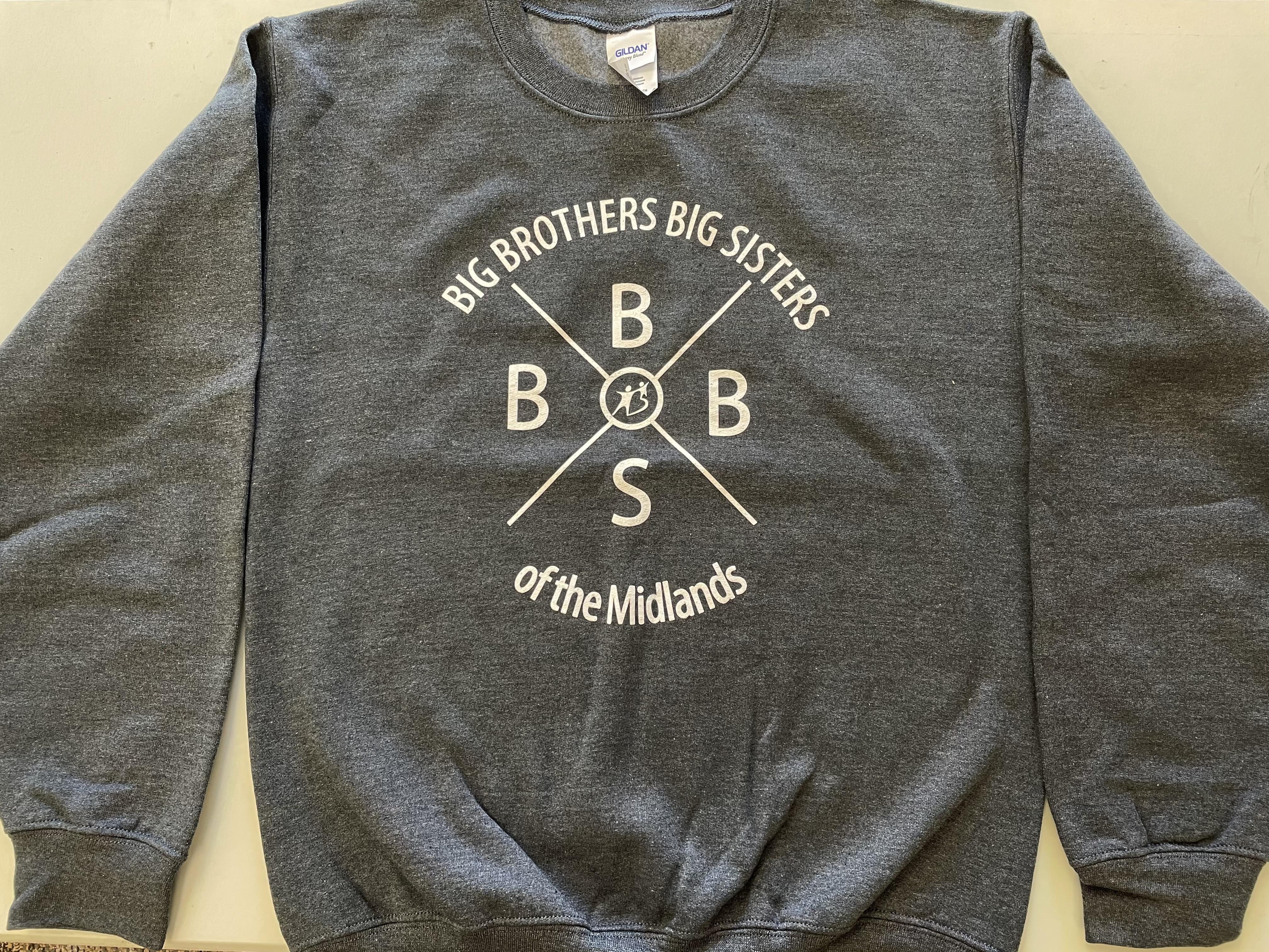 Grey Adult Crewneck Sweatshirt (MEDIUM)