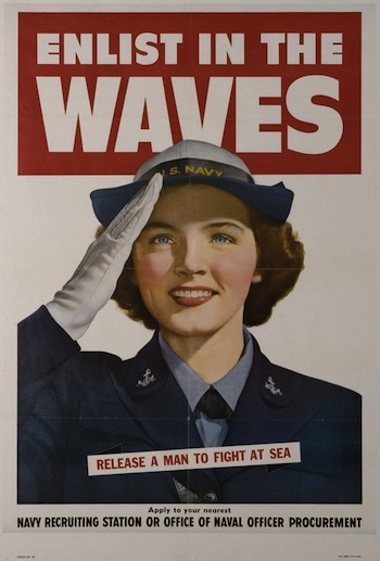 1942: The WAVES were established....