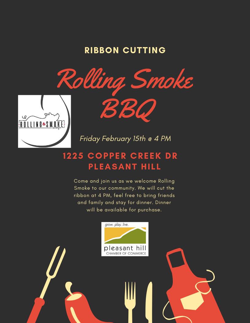 Ribbon Cutting- Rolling Smoke BBQ