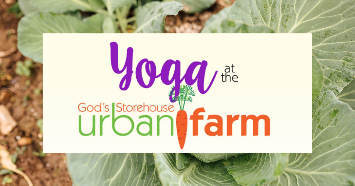 Yoga at the Urban Farm