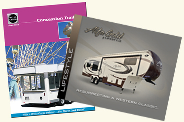 Brochures, Booklets, Sales Sheets and Flyers