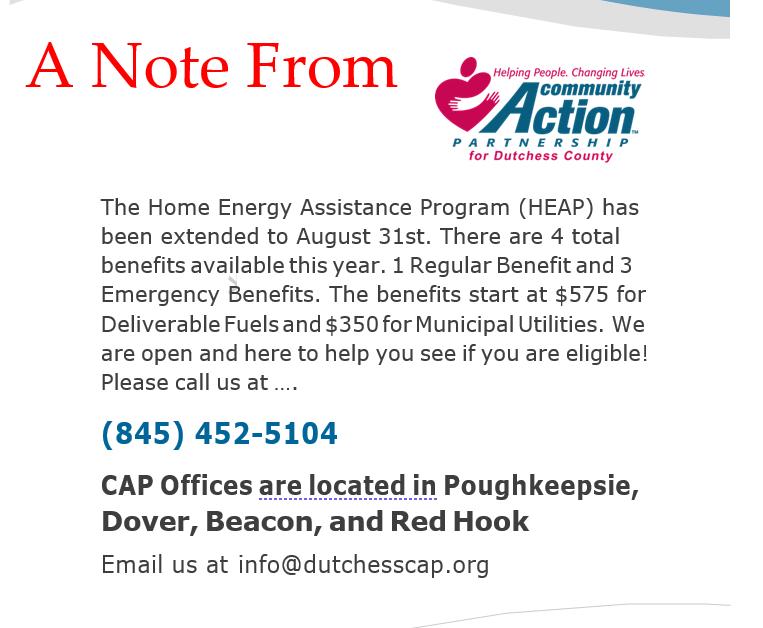 Home Energy Assistance Program