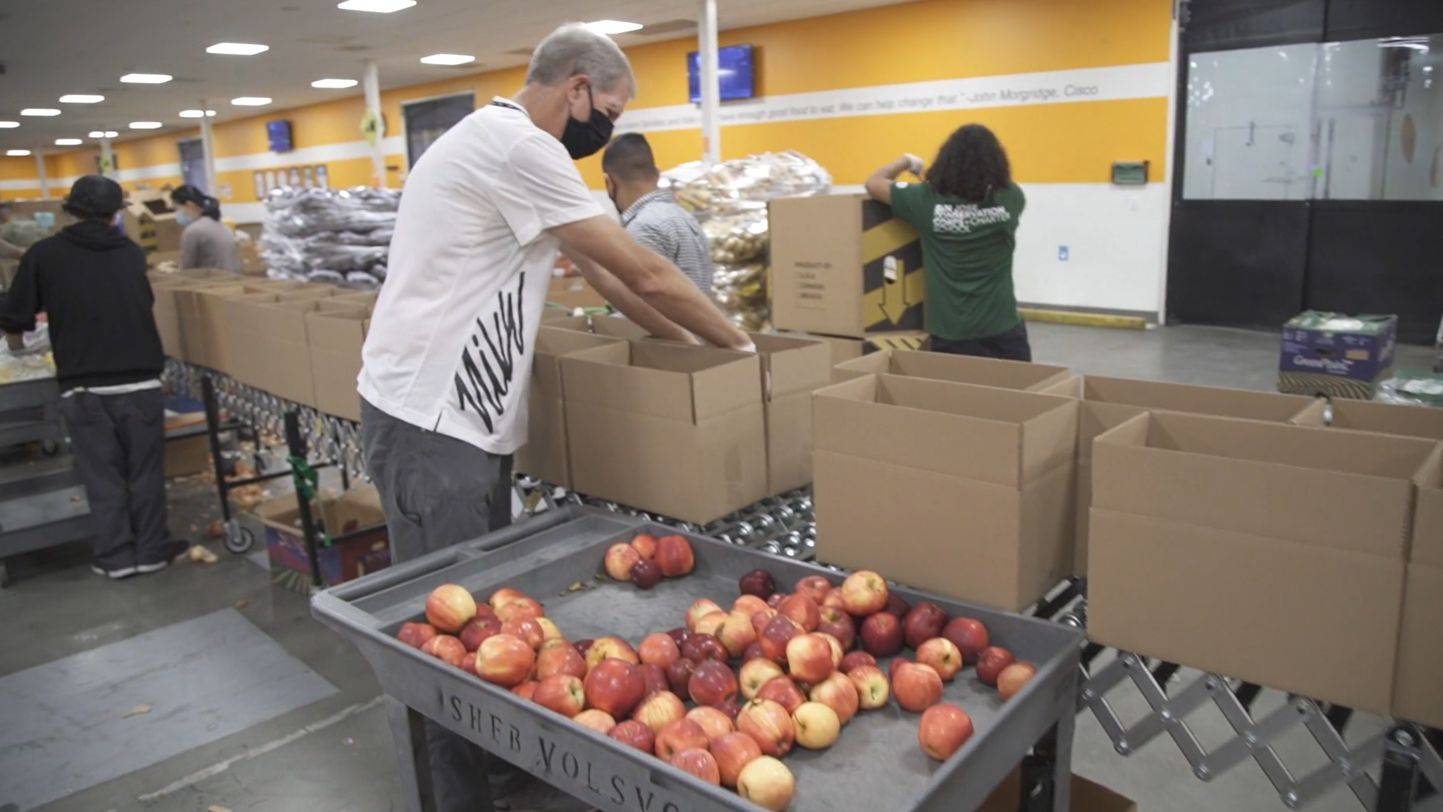 Battling Food Insecurity During COVID-19 (Helping Hands 2020)