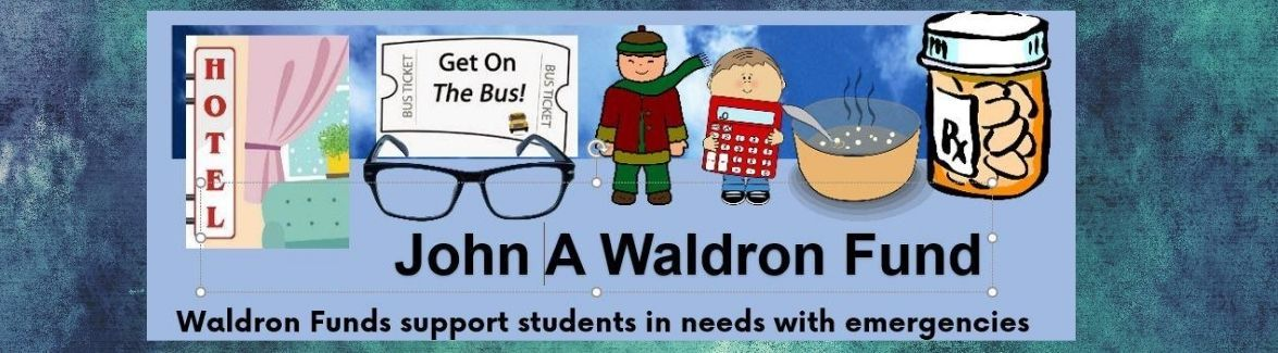 Thank you to Waldron Donors
