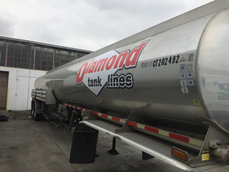 Tanker Truck Vinyl Decals in Los Angeles County CA