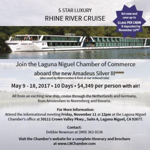 May 2017 Rhine River Cruise
