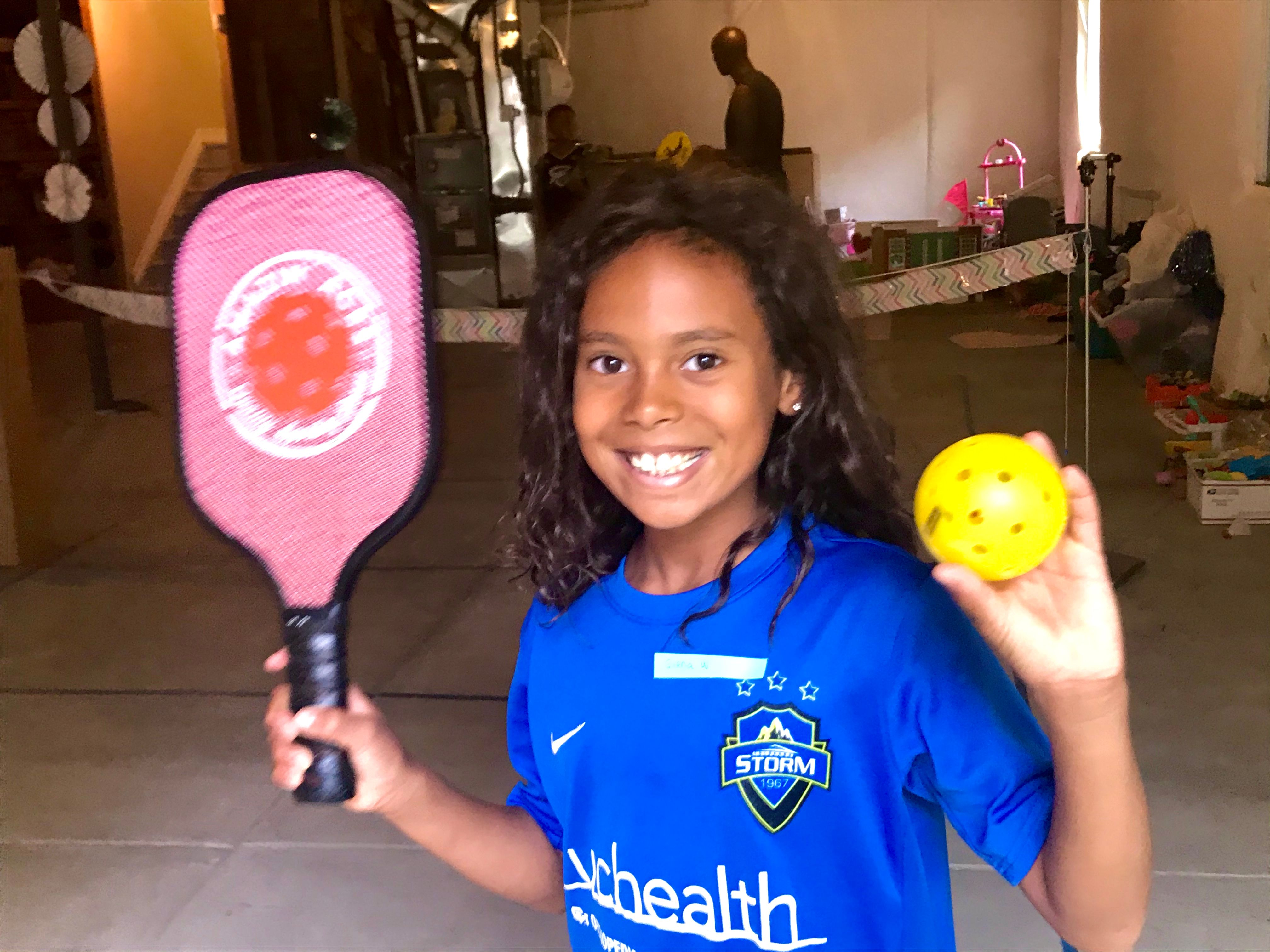 CCSD family plays Pickleball for a cause