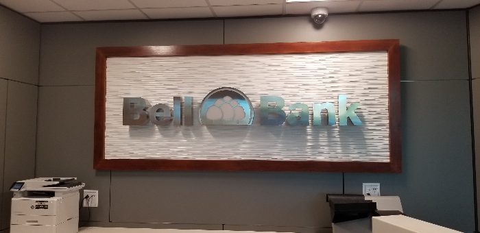 Halo-Lit Lobby Signs for Banks in Chandler AZ