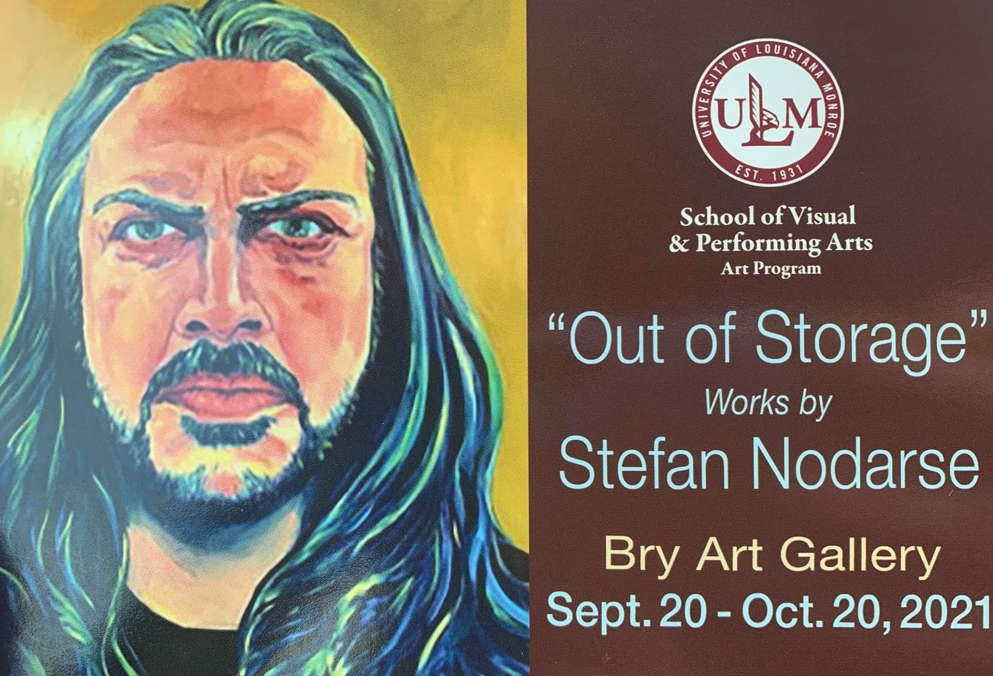 Artist Stefan Nodarse works showing at Bry Art Gallery