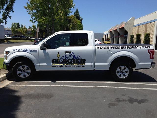 Fleet truck graphics Orange County