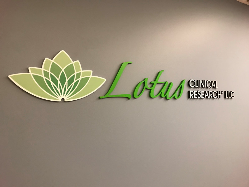 Custom Lobby Logo Signs for Medical Facilities in Southern CA