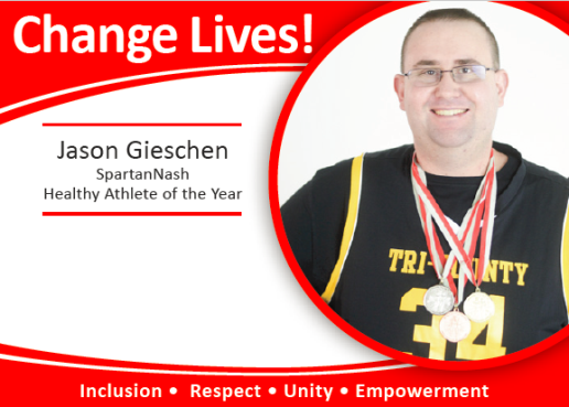 SpartanNash Healthy Athlete of the Year is Jason Gieschen!