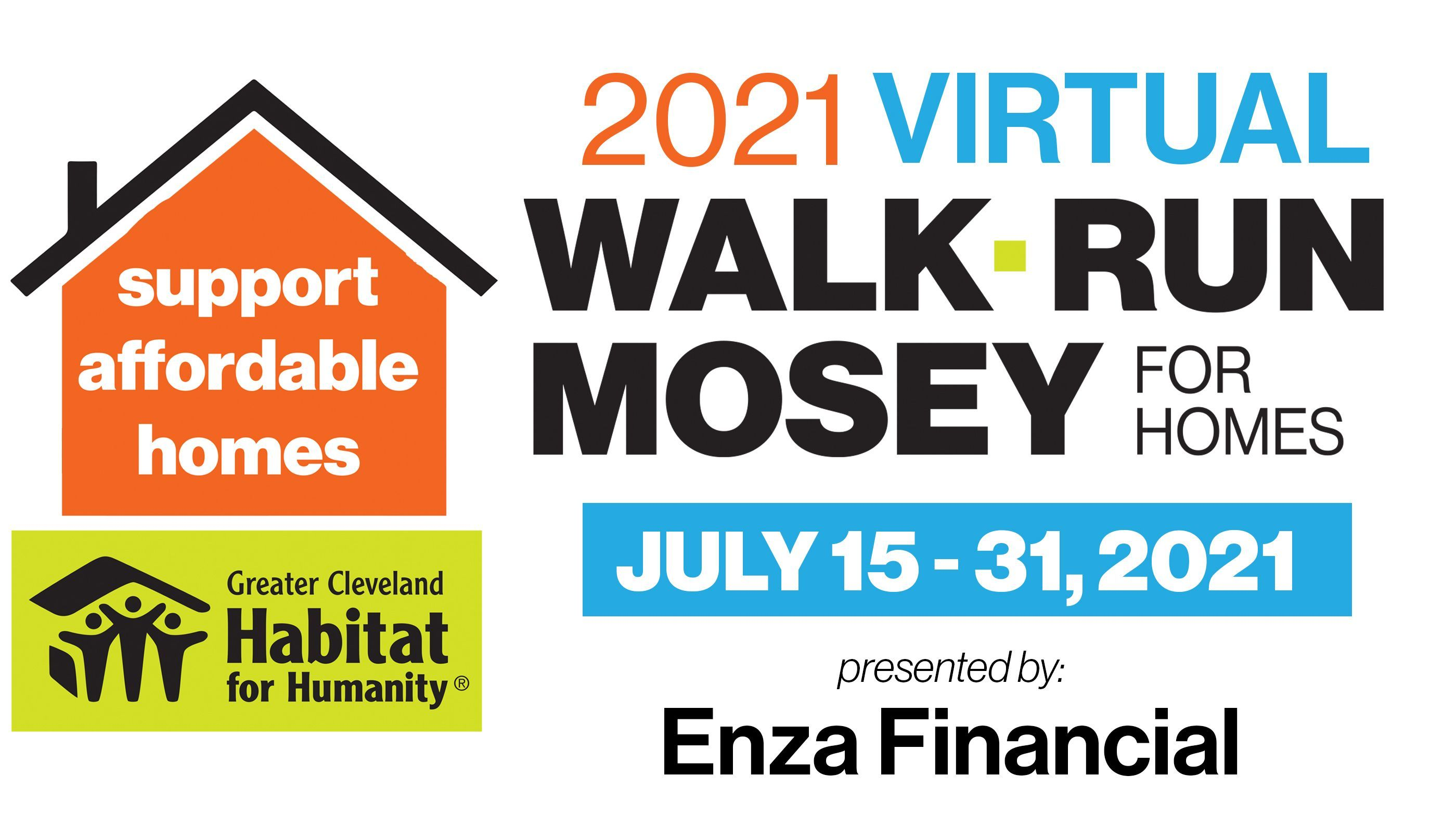 Registration opens for Cleveland Habitat's Virtual Walk, Run, Mosey