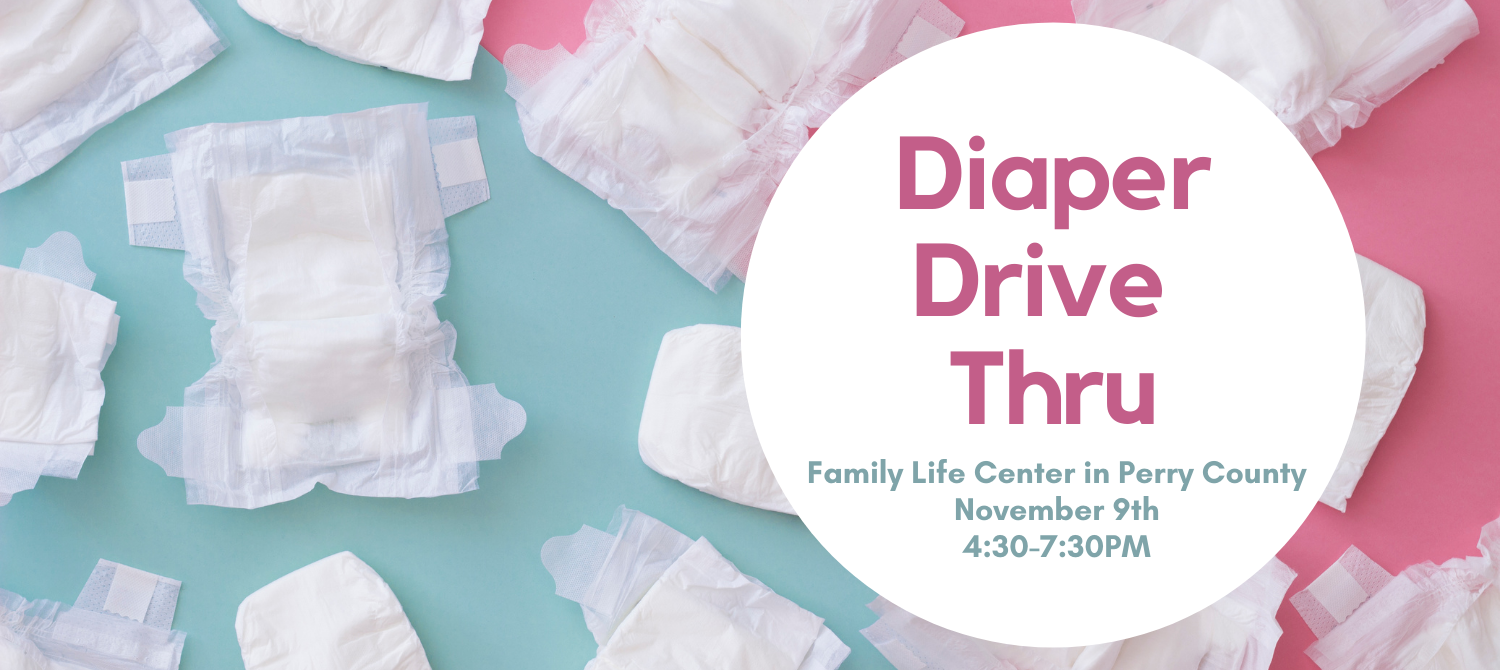 Diaper Drive Thru - Perry County
