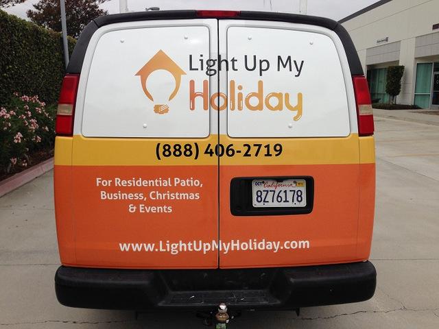 Van wraps and graphics Orange County