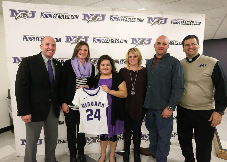 Niagara Lacrosse Adds Special Member to Program