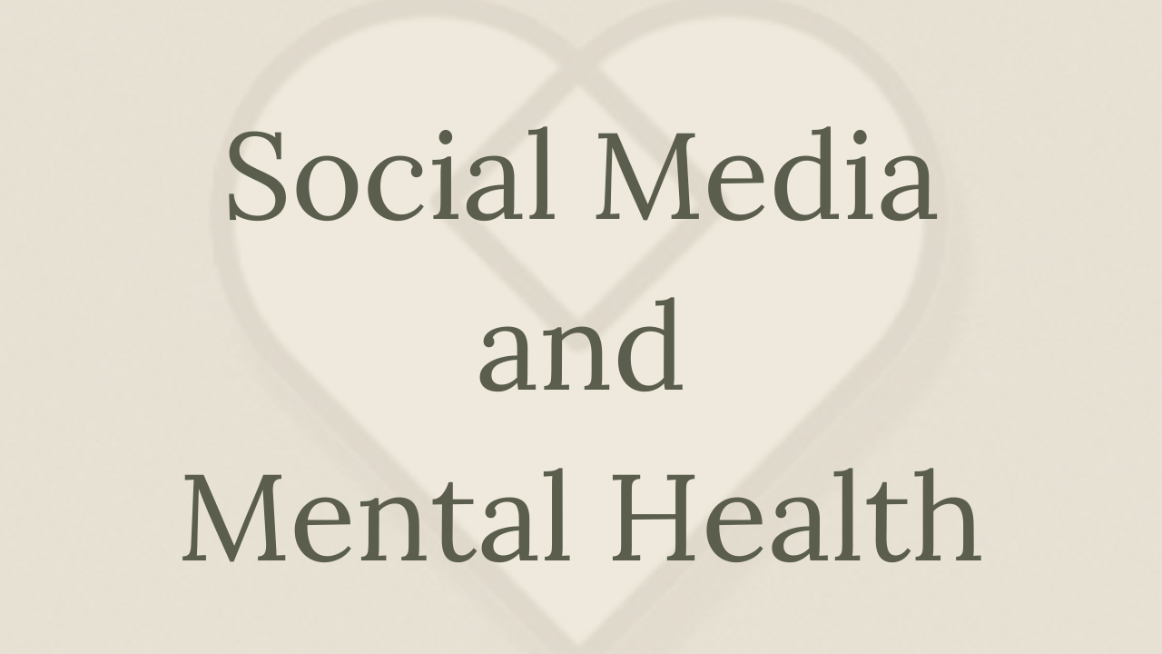 Mental Health Minute: Social Media & Mental Health