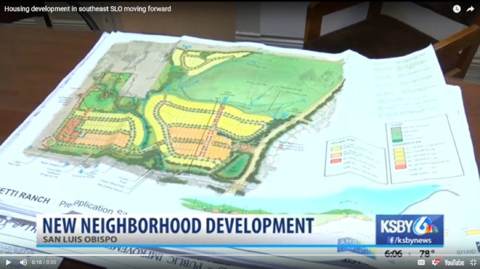 Housing development in southeast SLO moving forward