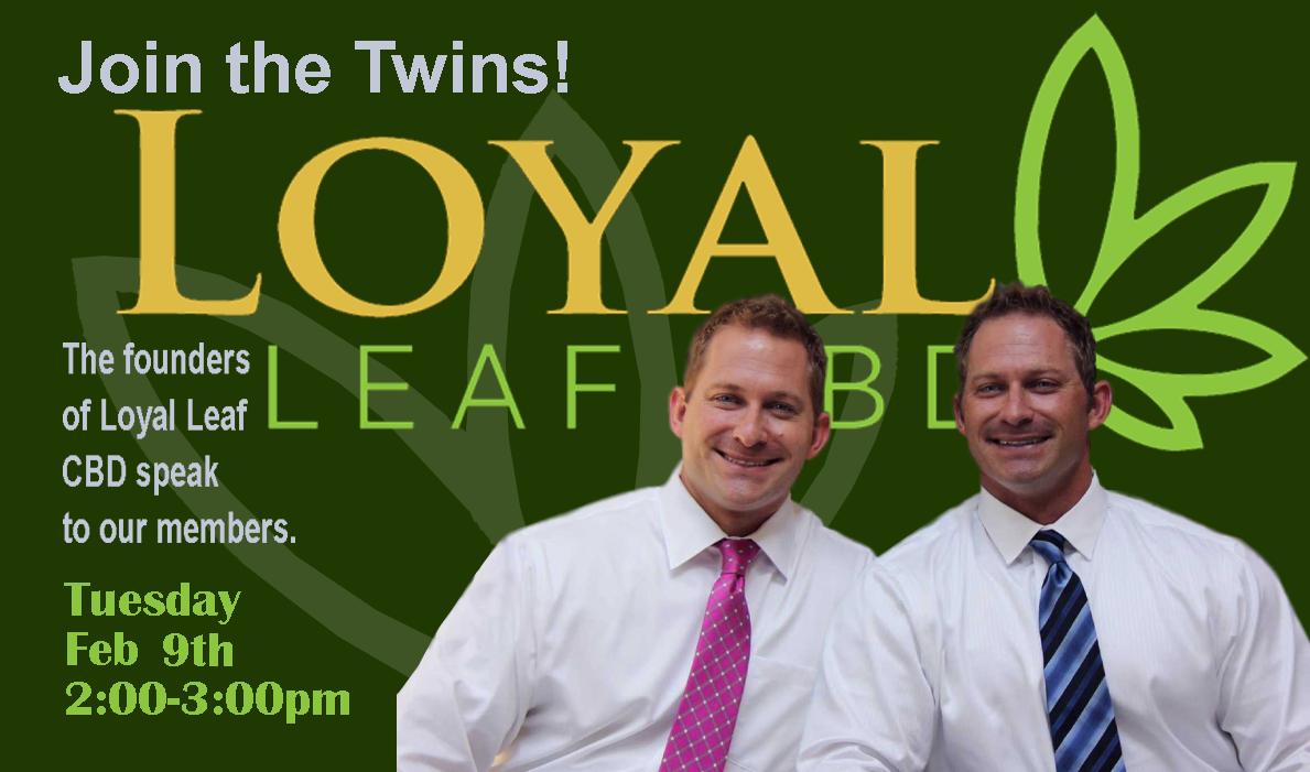 Loyal Leaf CBD event