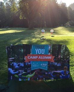 CYO Camp Alumni Golf Tournament Thank You Board