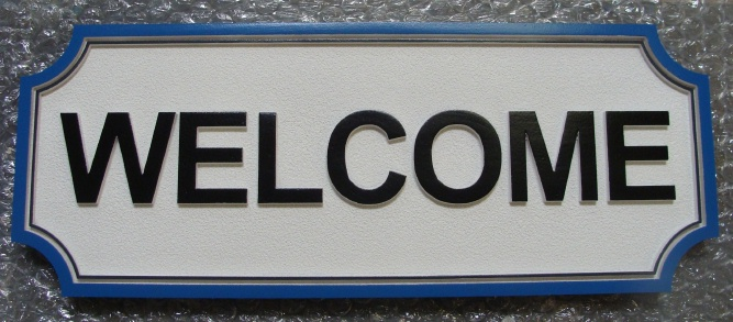 I18392 - Residence Welcome Sign
