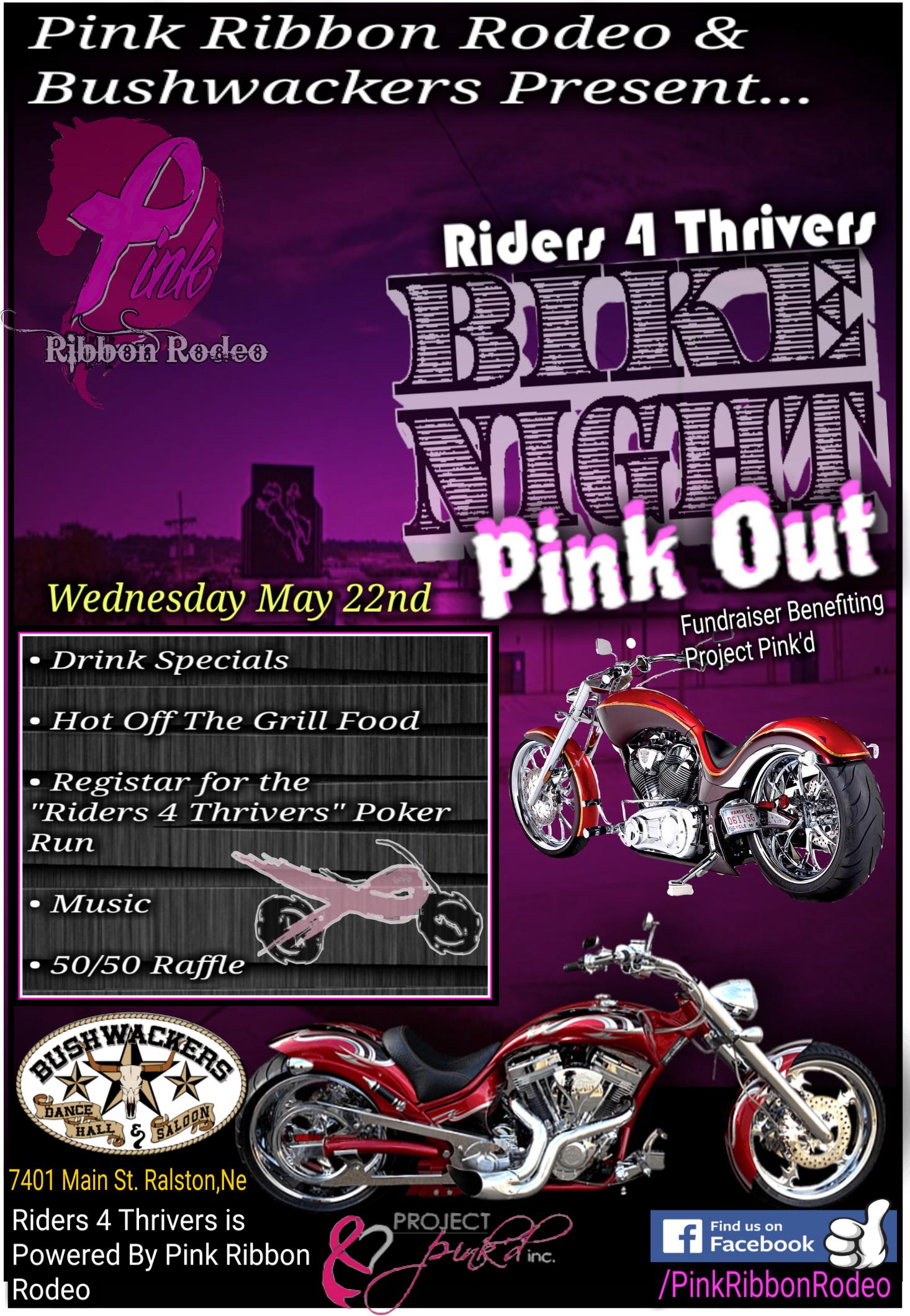 Pink Ribbon Rodeo Bike Night