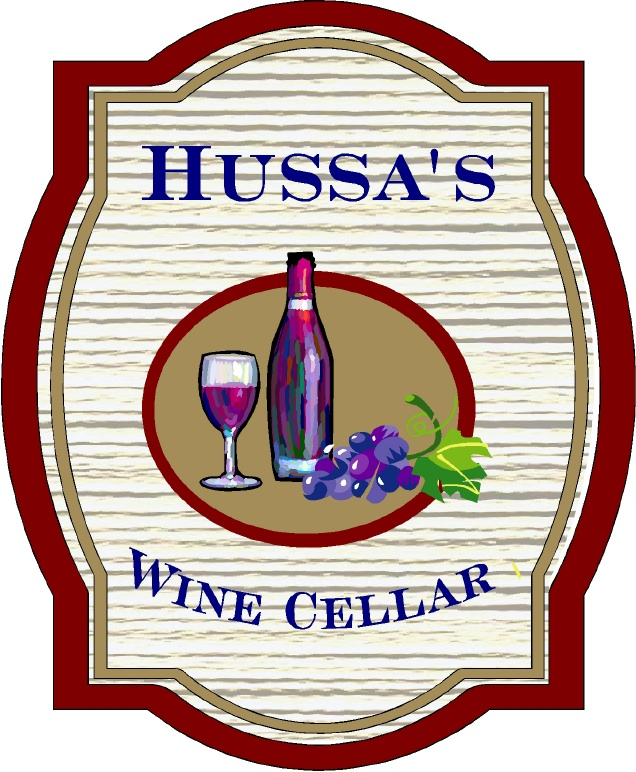 R27140 - Wall Plaque for Home Wine Cellar