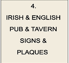 RB27500 - Irish & English Pub and Tavern Signs & Plaques