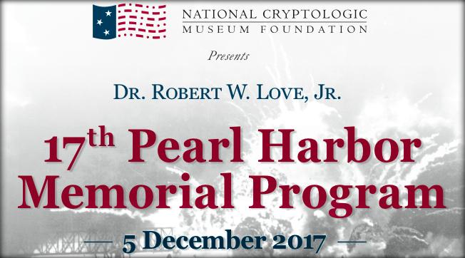 2017 Pearl Harbor Program on 5 December 2017