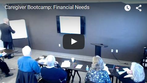Bootcamp: Financial Needs - Video