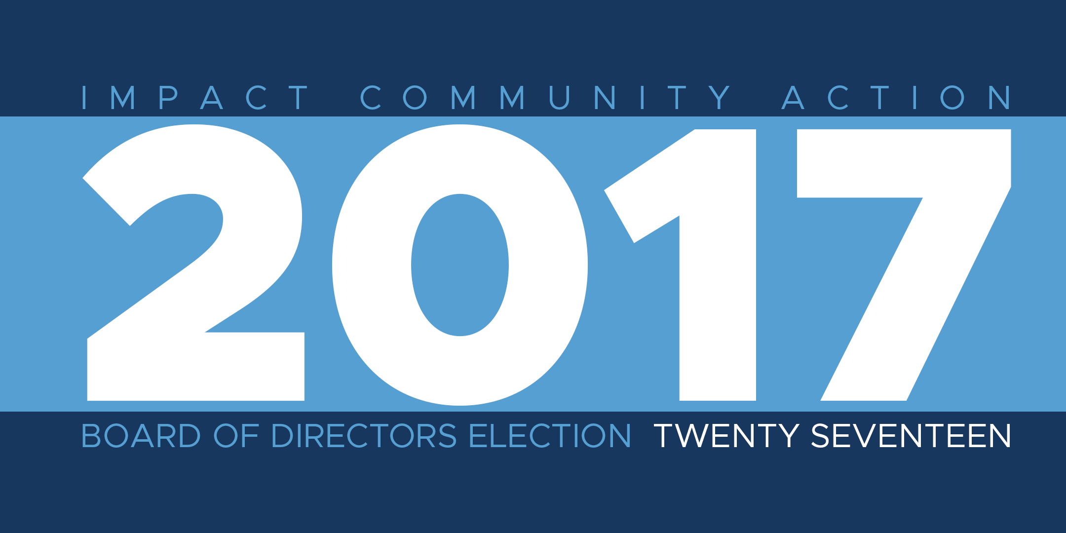 IMPACT Holding Election for Open Board Seats