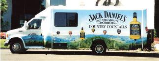 Jack daniels truck