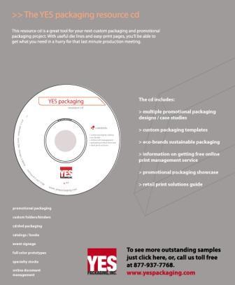 yes packaging resource cd