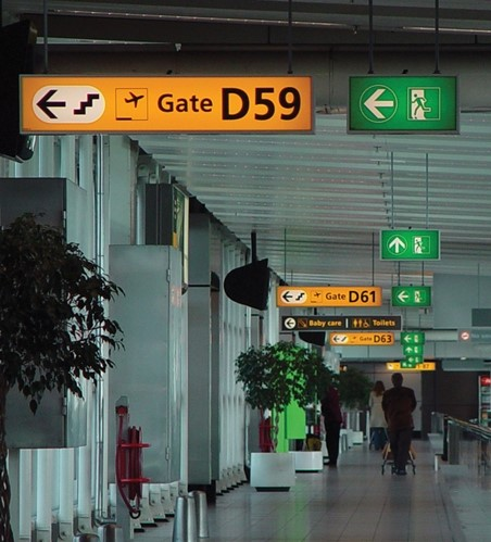 Airport Wall Murals, Graphics & Wayfinding Signage