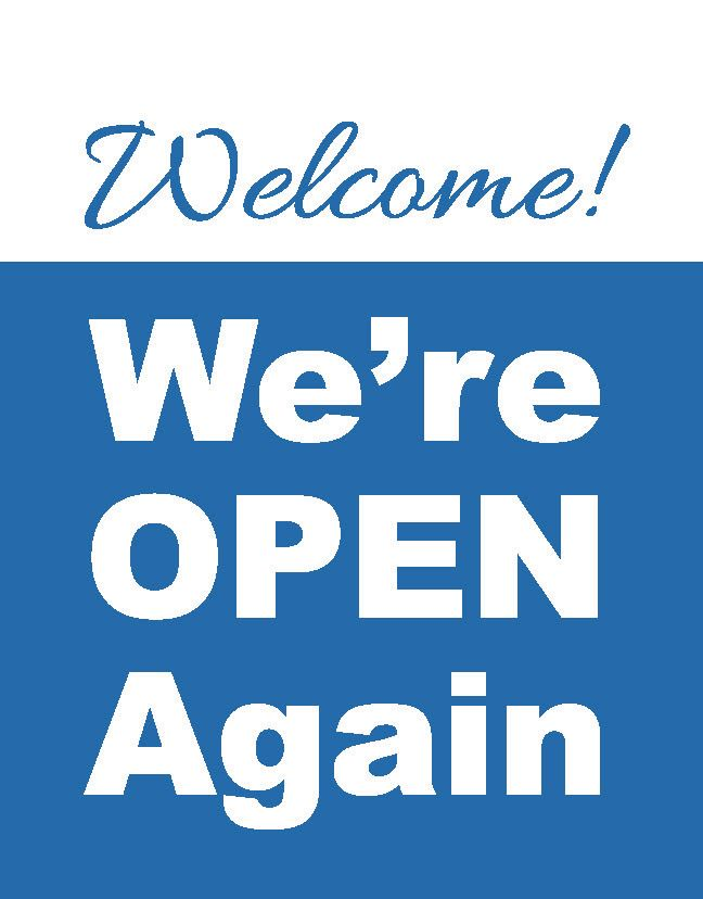 We're Open Signs
