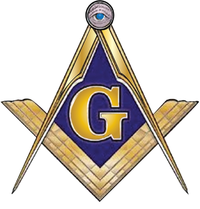 Z35106 - Carved 3-D Masons Emblem