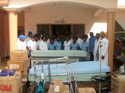 Hospital delivery in Ghana