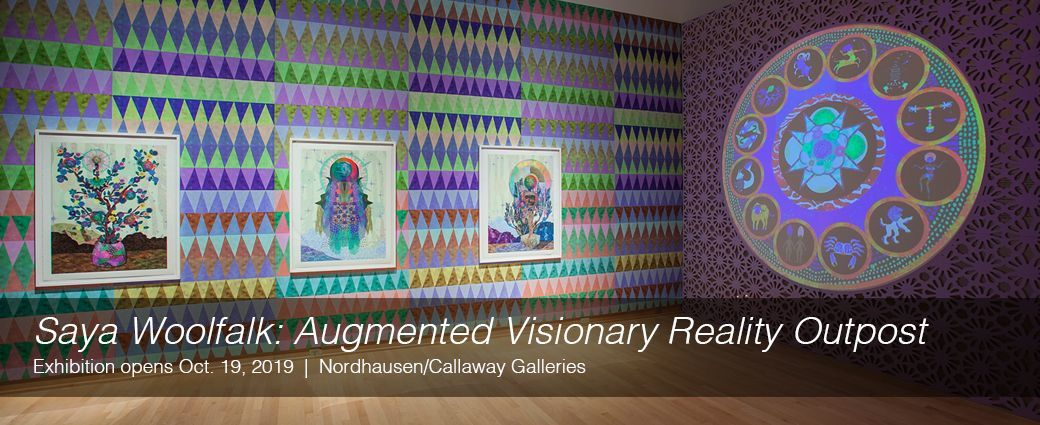 Saya Woolfalk: Augmented Visionary Reality Outpost