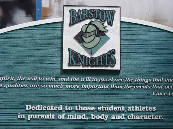 FA15600 - High School Athletic Sign