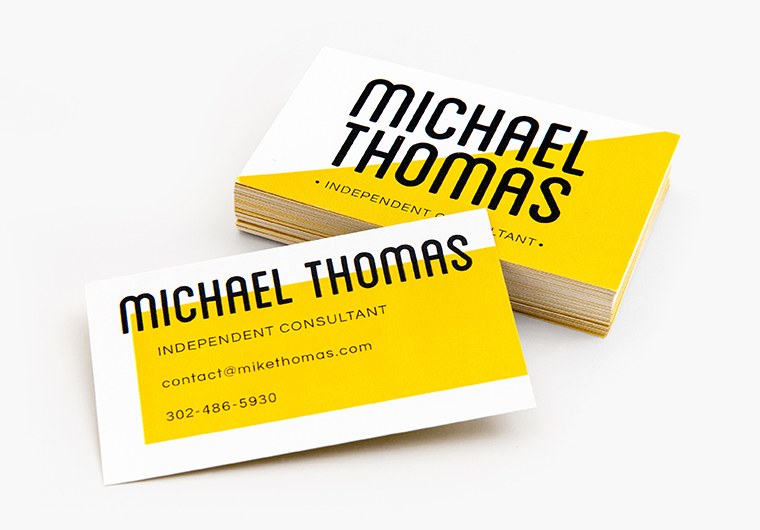 Business Cards - 100# Full Color