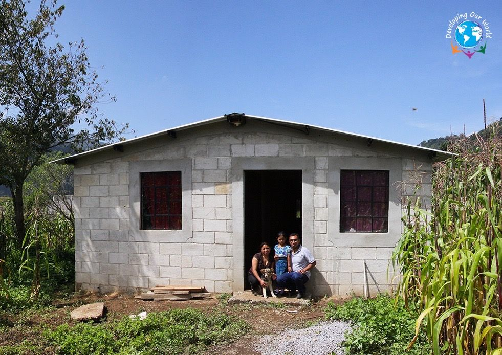 Developing Our World is Solving Guatemala's Housing Problem
