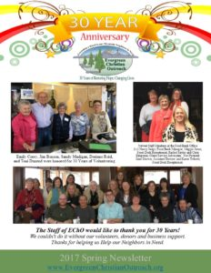 30th Year Anniversary Newsletter