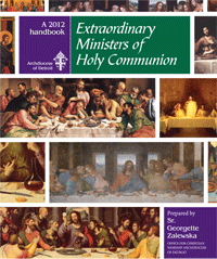 Handbook for Extraordinary Ministers of Holy Communion 2012