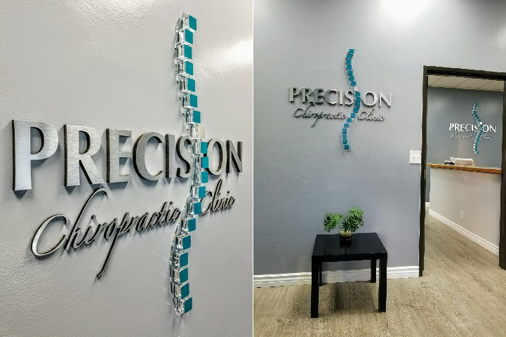 """Custom 3D Letters with 2"""" thick Acrylic Cubes"""
