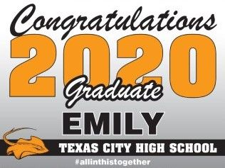 Senior 2020 Yard Signs