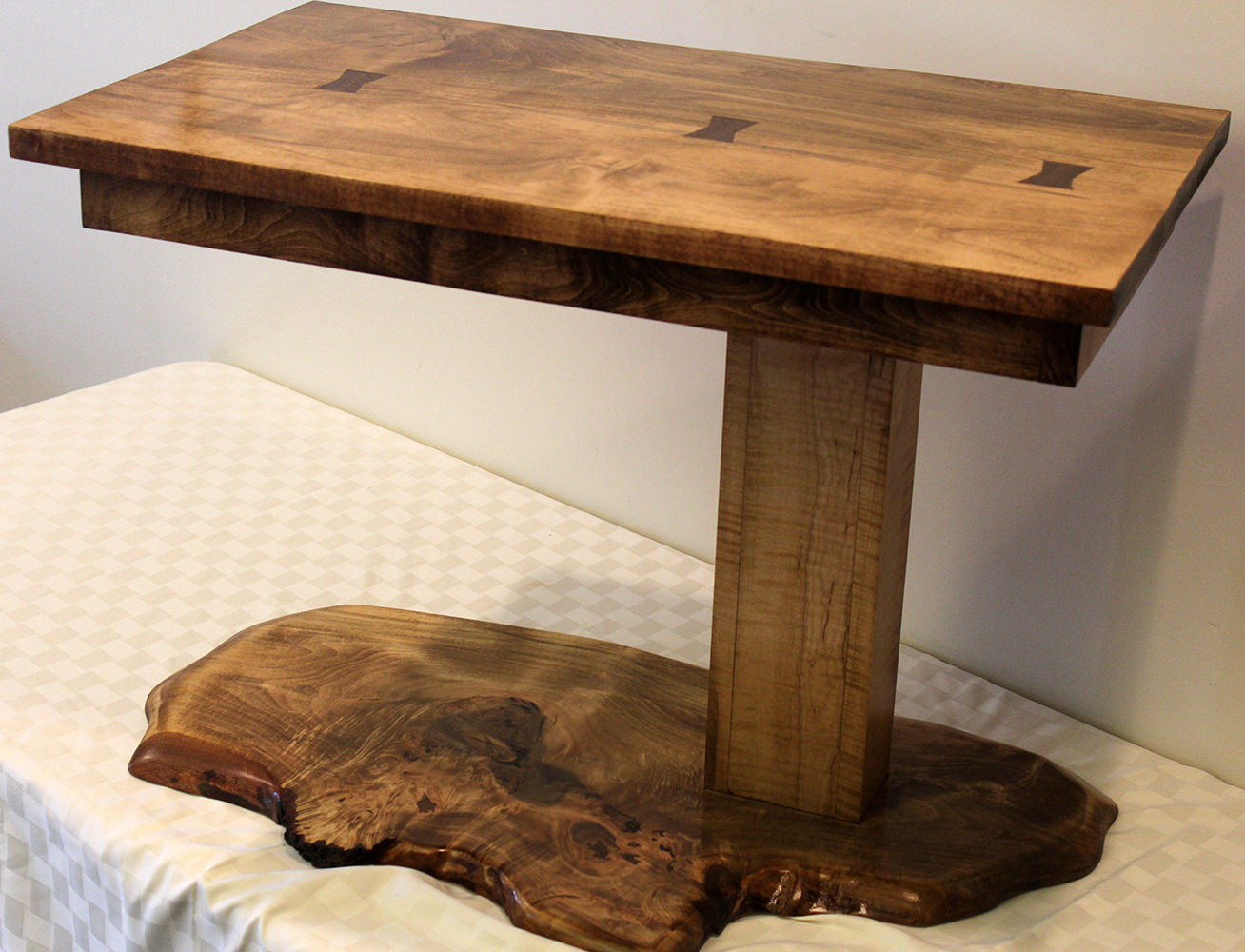 Spalted Maple Table - Donated by Charles Leasure