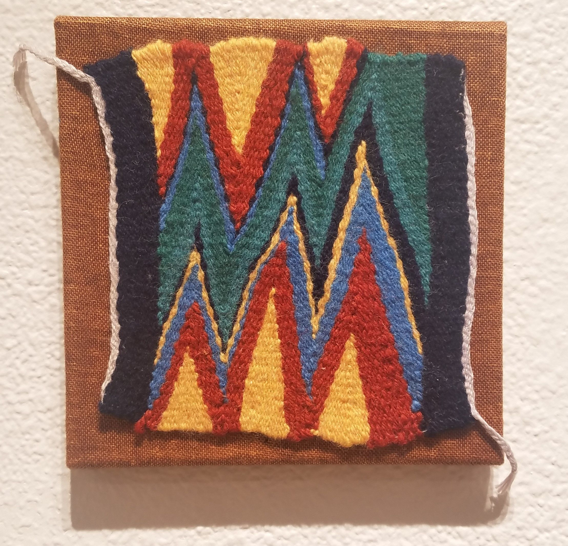 "Ann Carlson - ""Wedge Weave Tapestry"""