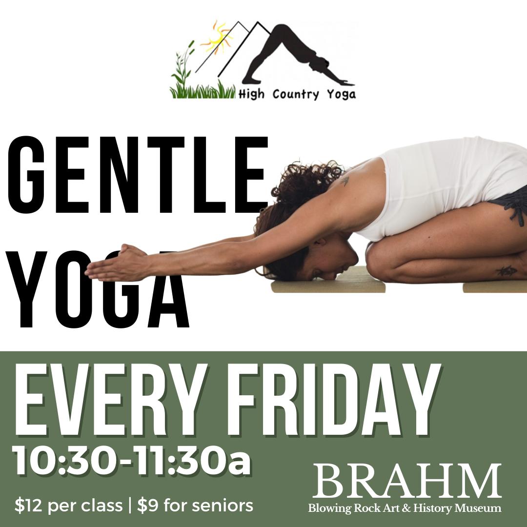 Jan 24th | Gentle Yoga