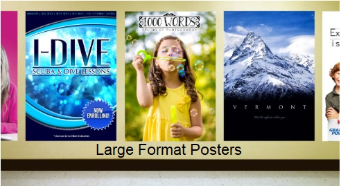 Big Color Posters